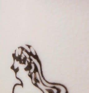 河童 レトロ*髪をなびかせ、裸で熱燗!