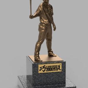 【西武】1/1栗山巧の銅像を税込990万円で販売wwww