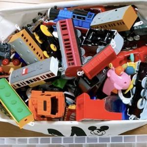 プラレール車両の収納方法を見直してみた!