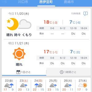 また雨かいなぁ〜。