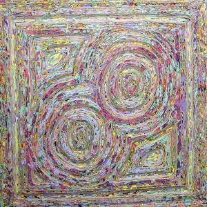 アクリル実験626 抽象576