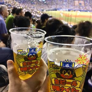 野球×花火×生ビール=夏!!神宮球場で生ビール半額ナイター&4年に1度のお楽しみDWL2019♪
