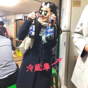 ローカルな居酒屋で酔っ払う♪女子旅ソウル