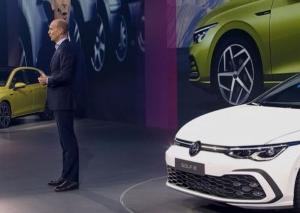 VW ゴルフ8 ドイツで公開