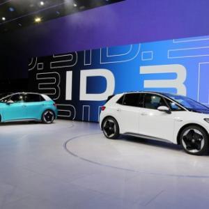 VW EV ID.3 量産開始