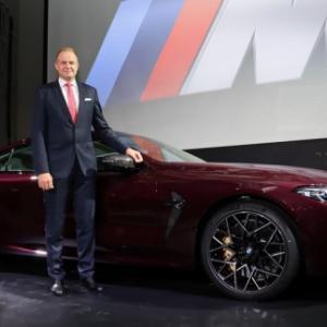 BMW M8 グランクーペ記者会見