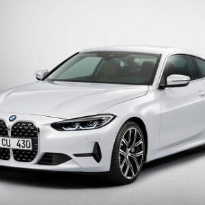 BMW 新型 4シリーズクーペ