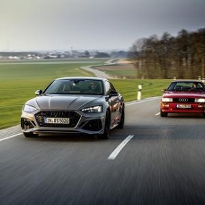 Audi quattro 40年の歴史