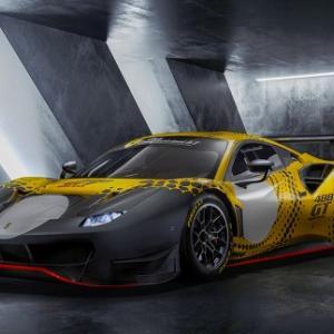 フェラーリ488 GT競技車両