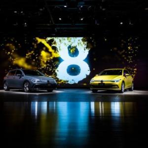 VW 新型ゴルフ報道発表会