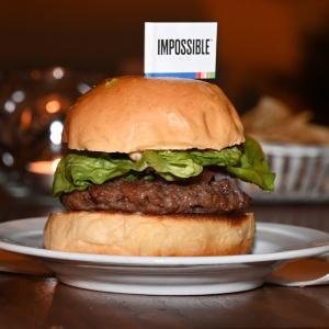 アメリカで開発が進む野菜ハンバーグ 膨大な開発費がいるので日本の会社はアメリカの会社から買うことを選択