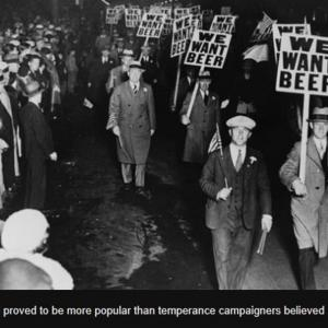 今もある禁酒郡と禁酒法100年