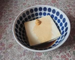 辛子豆腐もどき