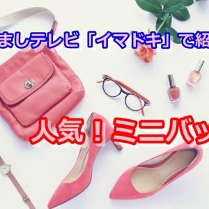 めざましテレビ「イマドキ!」2021年4月27日放送・石川萌香ちゃんが紹介していた『人気のミニバッグ』をリサーチ!
