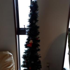 やっと・・・クリスマスツリーを出しました