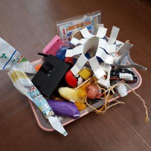 小学3年生の男子がカゴ1つ分のおもちゃを整理するのにかかった時間は?