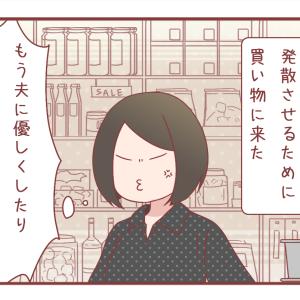 夫婦喧嘩の翌日、ストレス発散のための買い物にて。【1090】