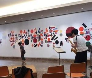 10/31(土/Sat)大分県立美術館 開館5周年記念事業 生誕110年 宇治山哲平にみる「やまとごころ」世界に一つだけのダンス その1