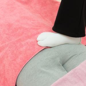 【川口市新井宿より】腰が辛い方にも足ふみリンパマッサージはおススメです!
