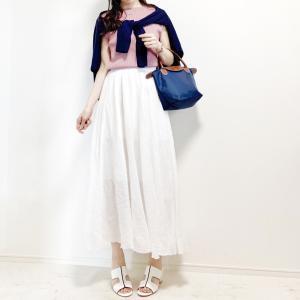 【UNIQLO】真夏のワンマイルに大活躍なふんわりスカート
