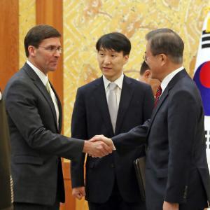 【中国専門家】文大統領が日韓GSOMIA終了を示唆、韓国という「コマ」うまく使えぬ米国[11/18]