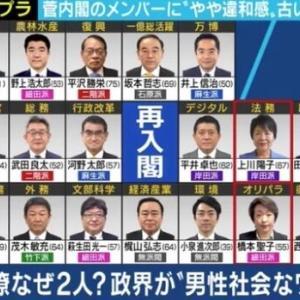 「若者・女性が少なすぎる」菅内閣の顔ぶれに批判の声…政治家は思った以上に若い?