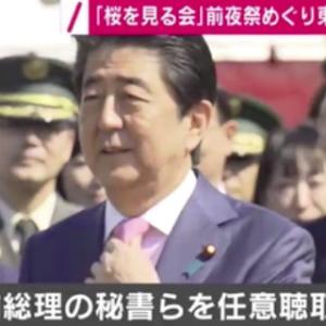 安倍前総理の秘書らを任意で事情聴取 「桜を見る会」前夜祭めぐり東京地検