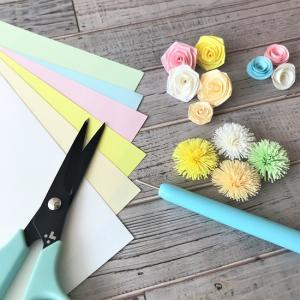 ★フリンジ・折りバラを作るときに便利なカットペーパー