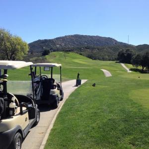 ゴルフツアー初日はテメキュラのTCIへ