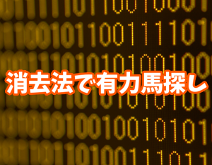 天皇賞秋2019 データ消去法