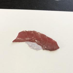 お寿司、マグロの赤身