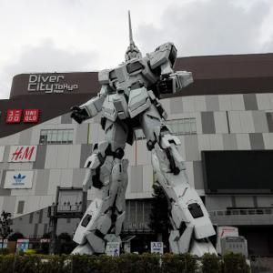 Unicorn Gundam・・・見てきました♪