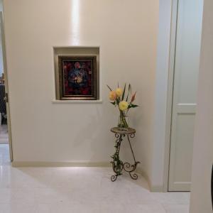 玄関ホールのお花