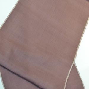 「フォーマルに結城紬を着こなす場合②」一日1コーディネート【No.354】結城紬&明綴袋帯