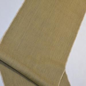 「色の組み合わせはバッチリ」一日1コーディネート小物チェンジ【No.011】縞結城紬&博多八寸帯