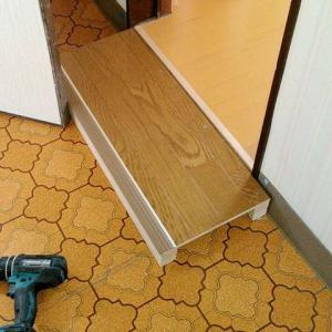リフォームしたら廊下に段差が出来て転倒。難題だった。