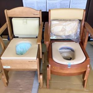 自動ラップ式ポータブルトイレ 2商品の違いは?