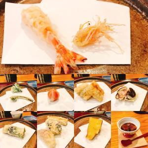 天仁の天ぷらランチ