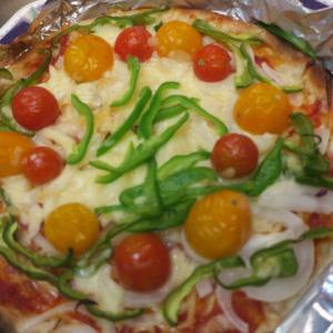 間違いない…ピザ大好き(⋈◍>◡<◍)。✧♡  スイカの様子