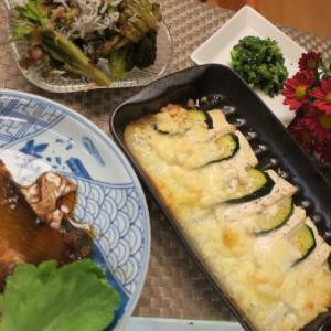 朝から嬉しいことが・・・・間引き菜が活躍のご飯・・・野菜の様子