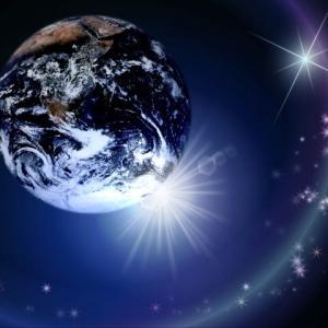 青い地球の瞑想を続けています。