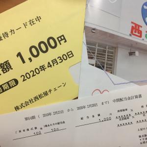 1,000円の配当と、1,000円の優待券。10万円以下で買える株主優待銘柄。