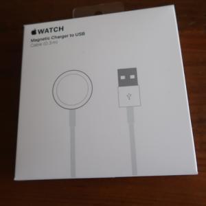 Apple Watch Series 4 モバイルバッテリーで充電できない。その後。