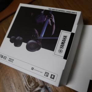 ヤマハ完全ワイヤレスイヤホン「TW-E3A」購入