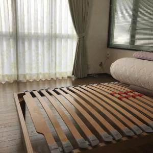 ベッド  カーテン  岩国