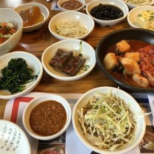 気前の良すぎる韓国料理店。