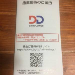 【3073】DDホールディングス 株主優待の贈呈(2020年)