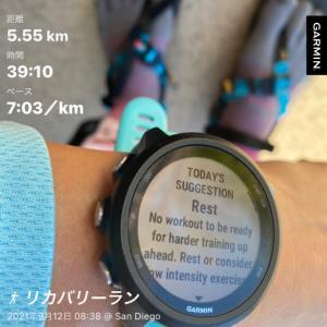 ★マラソン翌日とレースで頂いたもの