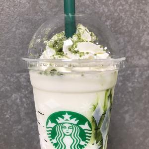 【スタバ】抹茶×抹茶 ホワイト チョコレート フラペチーノ