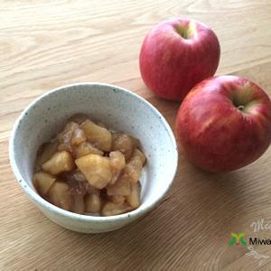 りんごが美味しい季節!アップルシナモンで作り置き健康スイーツレシピ